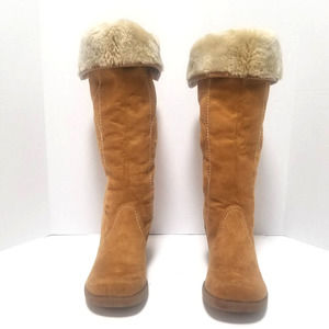 Mossimo Faux Fur Lined Cuff Boots